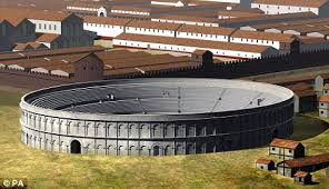 round table an artist s impression of chester s amphitheatre where historians now believe king arthur