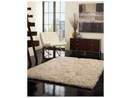 nuloom flokati natural rectangular area rug
