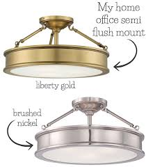 love the look of this semi flush mount ceiling light pics of it in the