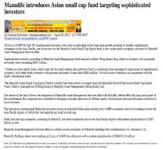 Asian small cap fund