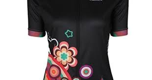Paladin Cycling Jersey Size Chart Qinying Colorful Flowers Women Breathable Cycling Jersey