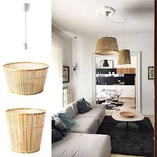 ikea lighting hack. ikea hack viktigt baskets as pendant lights by mommodesign lighting