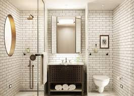 Endearing White Subway Tile Bathroom and Subway Tiles In 20 Contemporary  Bathroom Design Ideas Rilane