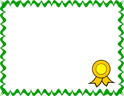 Kids Certificate Border Collection Of Certificate Clipart Free Download Best