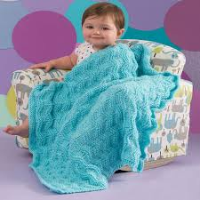 Red Heart Patterns Magnificent Baby Waves Blanket Red Heart