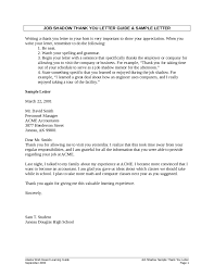 Awesome Collection of Sample Thank You Note After Job Shadowing In Resume