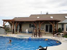 House Plans With Pool And Outdoor Kitchen Backyard SIMPLE HOUSE