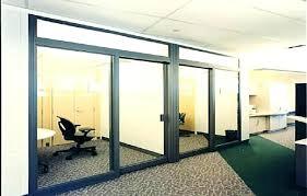decoration large sliding glass door design 8 doggy big doors cost