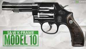 s w model 10