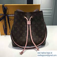 louis vuitton 2017 handbags. louis vuitton monogram canvas neonoe bag m44022 rose poudre 2017 handbags