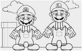 Luigi Printable Coloring Pages Awesome Baby Mario Baby Luigi 2