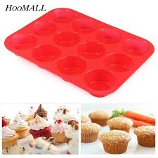 Cupcake Decorating Accessories Hoomall 100 Bakeware Lattices Silicone Cake Fondant Cupcake 32