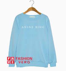 Anine Bing Size Chart Anine Bing Esme Sweatshirt