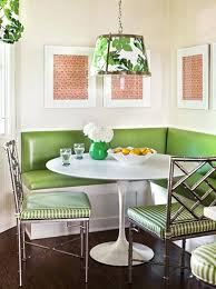 Dining nook furniture Seating Dining Nook Table Breakfast Nooks Contemporary Meets Retro Green Upholstery Metallic Chairs Corner Dining Nook Furniture Dining Nook Table Weirdlawsinfo Dining Nook Table Dining Nook Furniture Breakfast Set Table Side