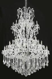 picture of elegant 2800g54c rc maria theresa chandeliers chrome 54in