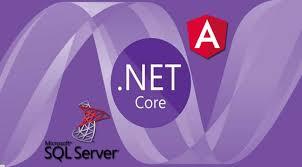asp net core sql server and angular 7