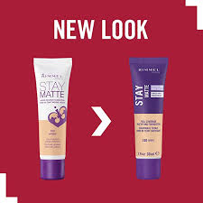 Rimmel Stay Matte Liquid Mousse Foundation Natural 400 30ml