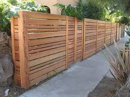 horizontal wood fence panels. 35 Awesome Wooden Fence Ideas For Residential Homes Horizontal Wood Panels H