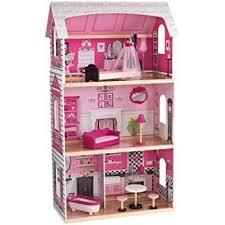Amazon KidKraft Bonita Rosa Dollhouse 40 Dolls Dollhouse Extraordinary Make Your Own Barbie Furniture Property