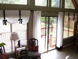 image of awesome window treatments sliding glass doors ideas