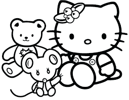 Hello Kitty Color Pages Trustbanksurinamecom