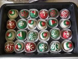 christmas cake balls. Brilliant Balls Christmas Cake Balls To L