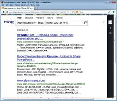 advanced search engine operators to find resumes resume search engine