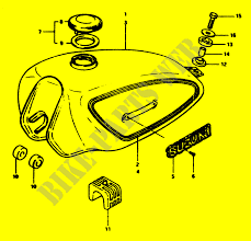 fuel tank body frame zr50slkx 1999 zr 50 moto suzuki motorcycle Chopper Wiring Diagram suzuki moto 50 zr 1999 zr50slkx body frame fuel tank