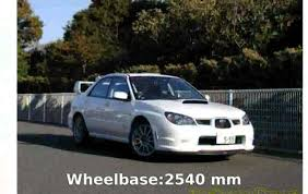 2005 Subaru Impreza WRX STI spec C Type RA 2005 Specs - YouTube