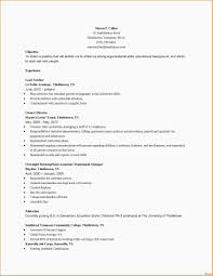 Resume And Cover Letter For Early Childhood Education Resume For Study