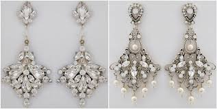 large bridal chandelier earrings by erin cole laura jayne
