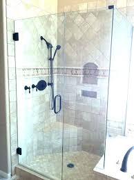 creative shower door thickness shower door half wall extraordinary best glass doors thickness enclosures shower door
