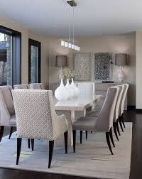 furniture and the special chandelier contemporary dining room 14