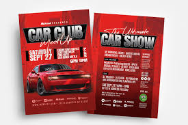 Club Flyer Templates Free Car Club Flyer Template Psd Ai Vector Brandpacks
