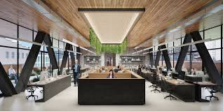 Warehouse office space Flex The New Structure Will Be Used As Openplan Office Space Portafab Morris Adjmi Reveals Design For The Warehouse Complex In Nyc