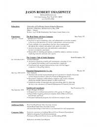 Resume Template Microsoft Word Format Using Resume Template