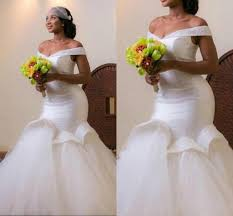 2017 new design mermaid wedding dresses off shoulder tulle sweep train tiered pleats white bridal gowns high quality vestidos ba1320 designer wedding dress