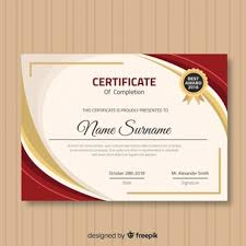 Templates For Certificates Certificate Vectors Photos And Psd Files Free Download