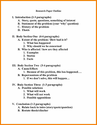 Mla Sample Paper Example Mla Sample Paper 7 Research Outline In Format Template