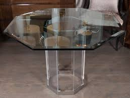 B Glass And Chrome Dining Table 2017 64