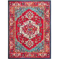 this review is from monaco red turquoise 10 ft x 14 ft area rug