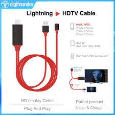 Cáp chuyển đổi HDMI 2m cho Ipad Pro Air Mini Iphone