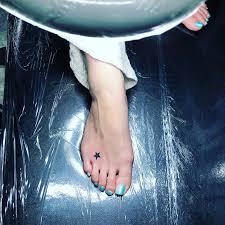 足の甲に星のタトゥーtattoo千葉幕張刺青irezumi千葉女性彫師 Free