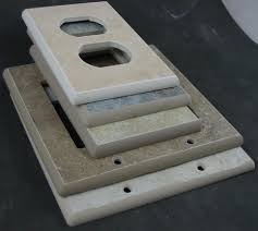 Ceramic Light Covers Porcelain Ceramic Switch Plates And Receptacle Covers