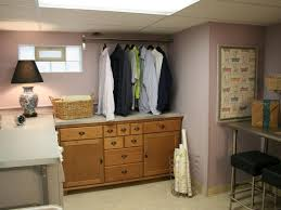 Unfinished basement laundry room ideas Room Makeover Hdts1212laundryroomafter Hgtvcom Laundry Room Gets Facelift Hgtv