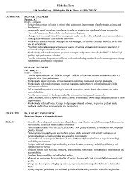 Service Engineer Resume Samples Velvet Jobs