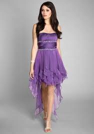 Lila Vokuhila Kleid im umwerfenden Lagenlook - günstig bestellen ...