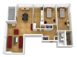 bhk Isomatric Jpg d Floor Plan For House  ClipgooDecoration Lanscaping Apartments Architecture d Floor Plans x Software With Space Kitchen Planner Home  what