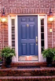 house front door open. Best Red Brick House Door Doorlove This Color Blue And Pics For Front Ideas Trends Style Open