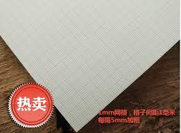100 Sheets A1 A2 A3 A4 Standard Coordinate Paper Coordinate Paper